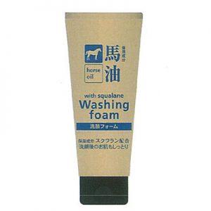 馬油 洗顔フォーム